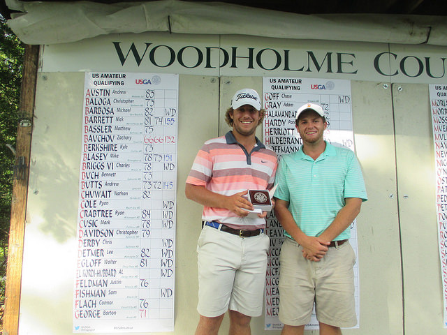 Zachary Bauchou medalist and his caddie at Woodholme Country Club after Bauchou qualified for the US Amateur  sc 1 st  Maryland State Golf Association : us amateur sectional qualifying - Sectionals, Sofas & Couches