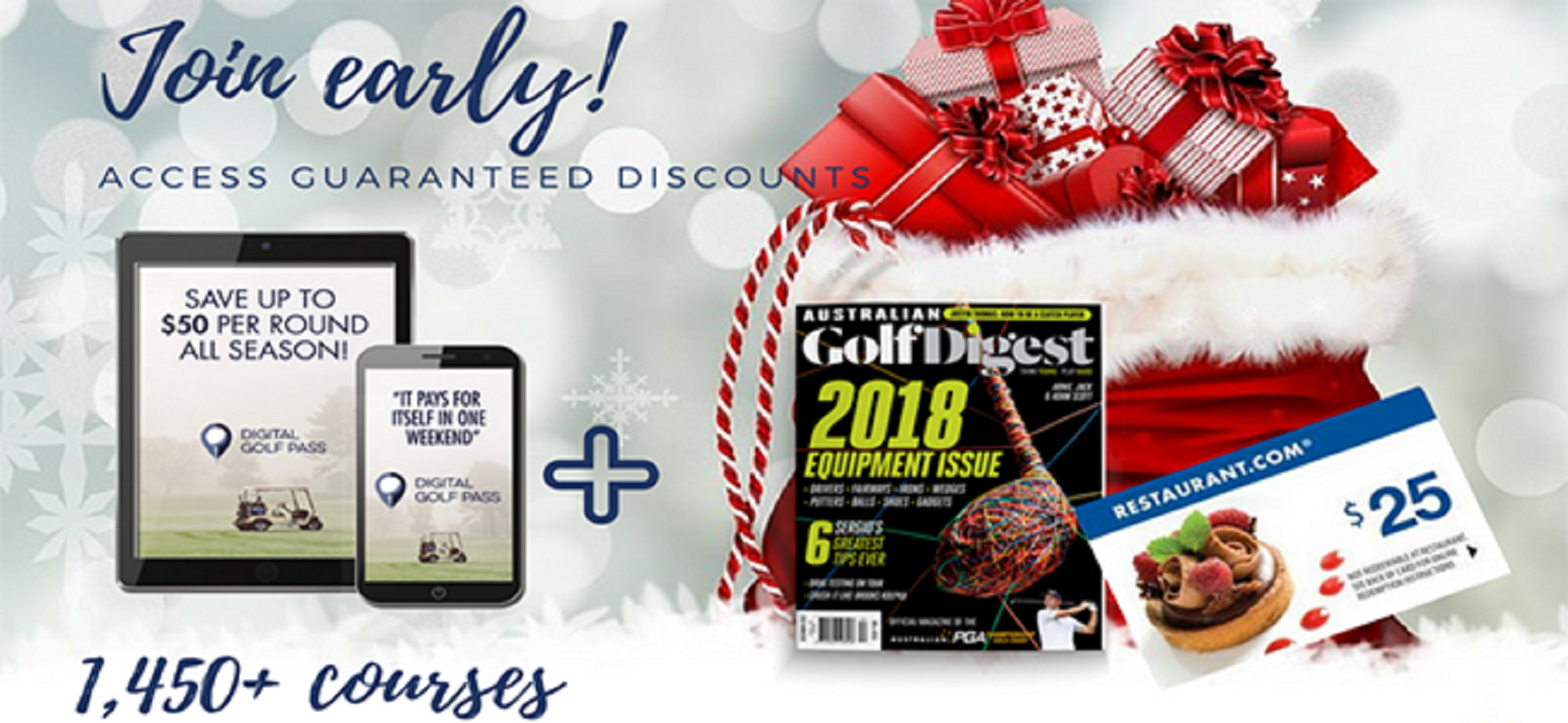 2018 Digital Golf Pass Holiday Offer | Maryland State Golf